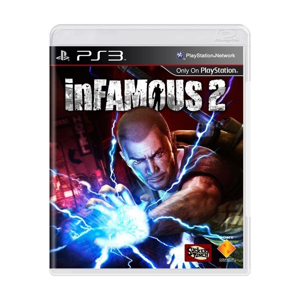 Jogo PS3 Usado Infamous 2