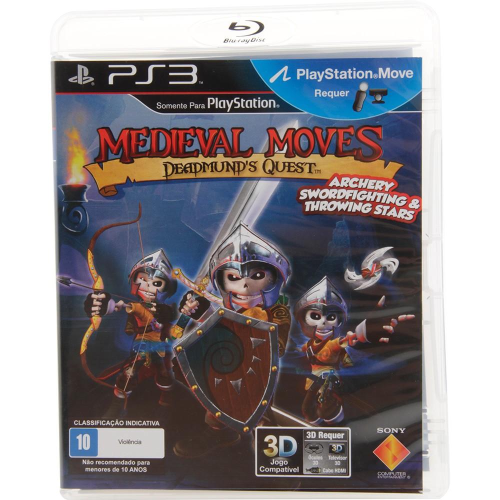 Jogo PS3 Usado Medieval Moves Deadmund's Quest