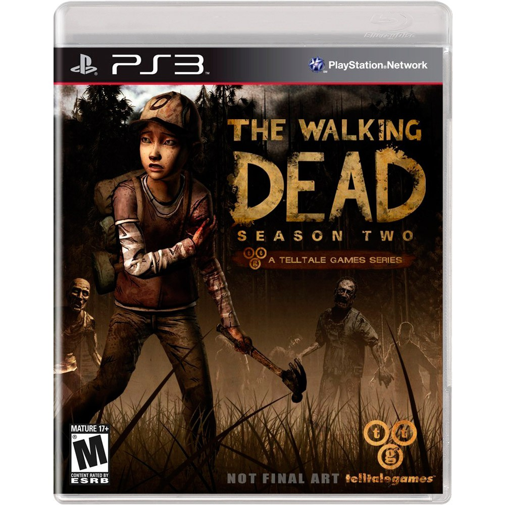 Jogo PS3 Usado The Walking Dead Season 2