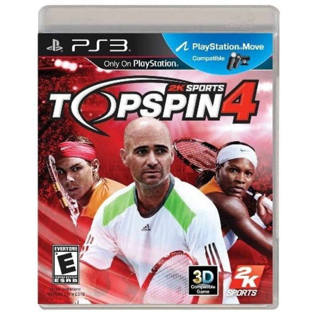 Jogo PS3 Usado Top Spin 4
