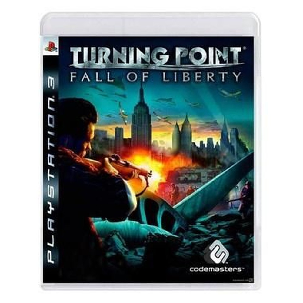 Jogo PS3 Usado Turning Point Fall Of Liberty