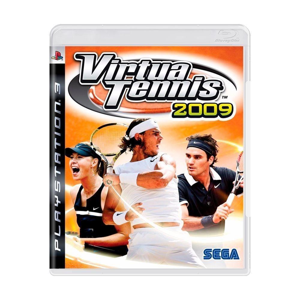 Jogo PS3 Usado Virtua Tennis 2009