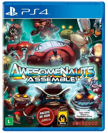 Jogo PS4 Awesomenauts Assemble