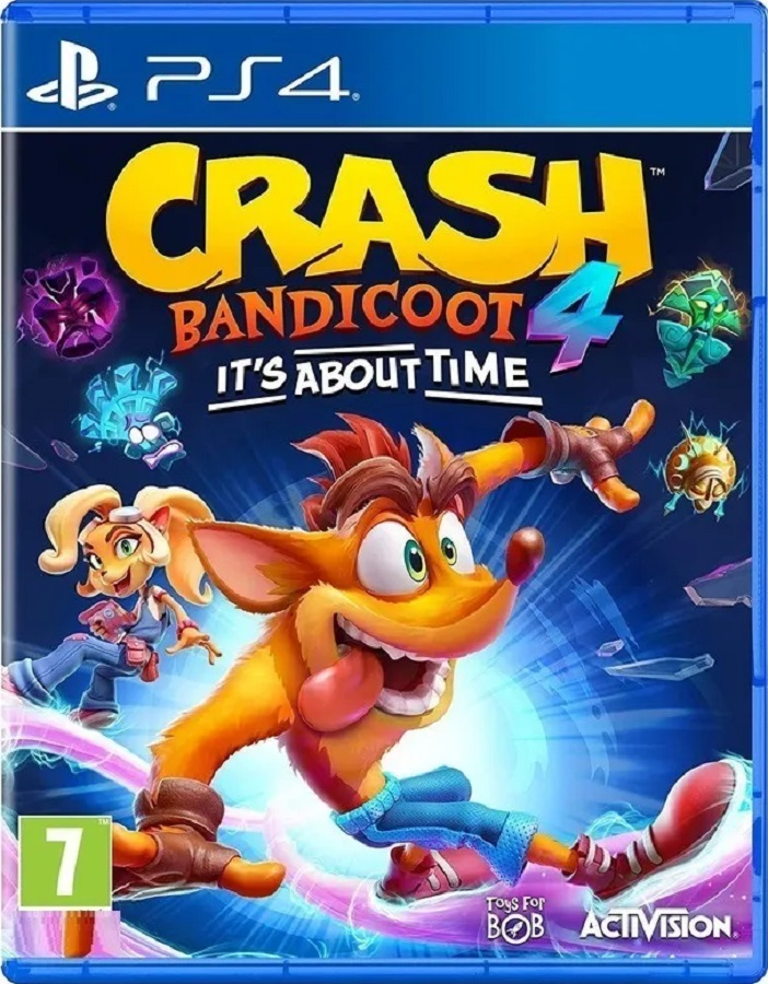 Jogo PS4 Crash 4: It´s About Time - Midia Fisica