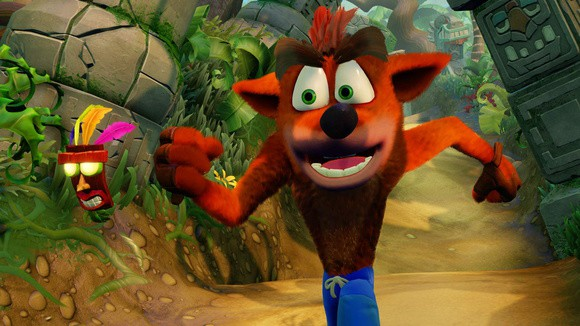 Jogo PS4 Crash Bandicoot N. Sane Trilogy