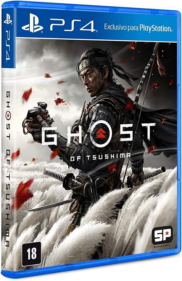 Jogo PS4 Ghost of Tsushima