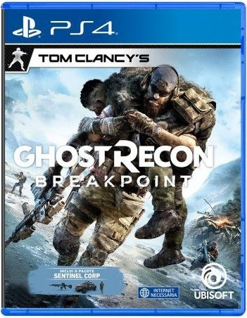 Jogo PS4 Ghost Recon Breakpoint