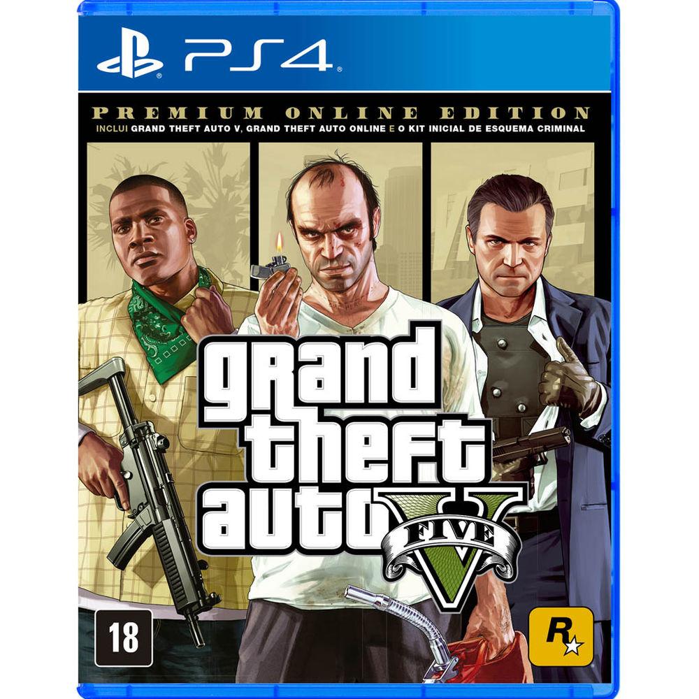 Jogo PS4 Grand Theft Auto V