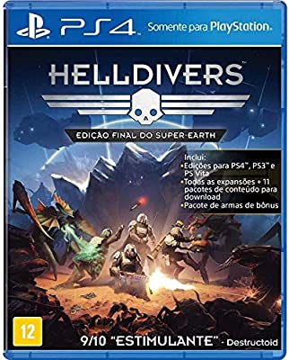 Jogo PS4 Helldivers