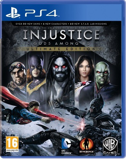 Jogo PS4 Injustice: Gods Among Us
