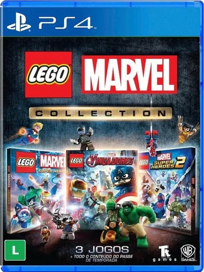 Jogo PS4 Lego Marvel Collection