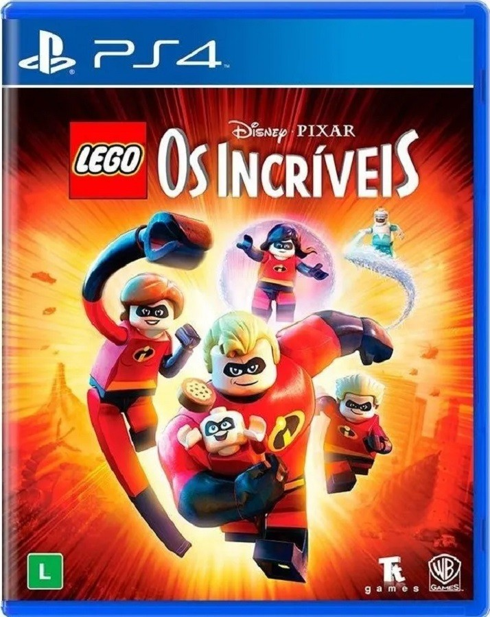 Jogo PS4 Lego Os Incríveis