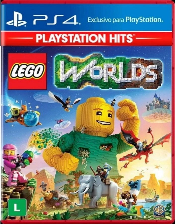 Jogo PS4 Lego Worlds - Playstation Hits