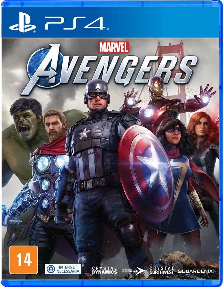 Jogo PS4 Marvel Avengers