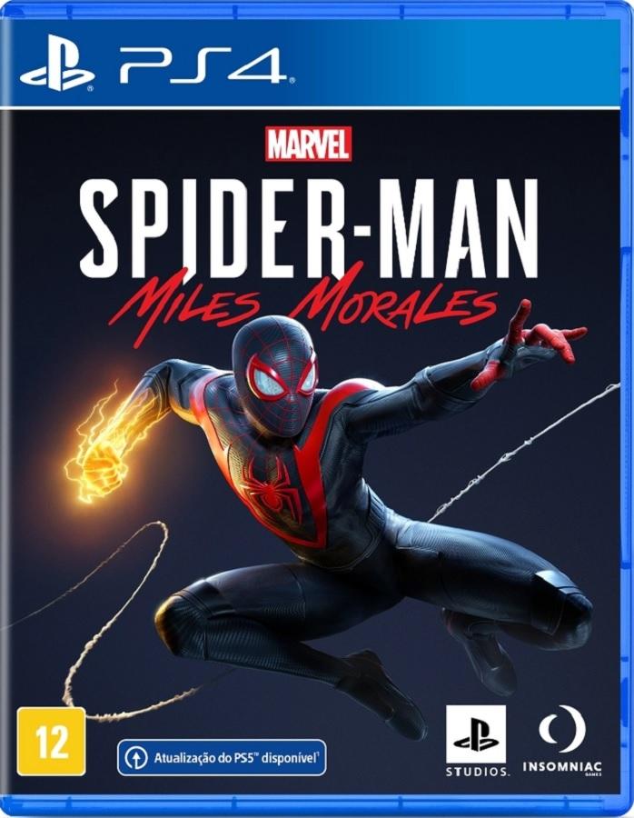 Jogo PS4 Marvel´s Spiderman Miles Morales