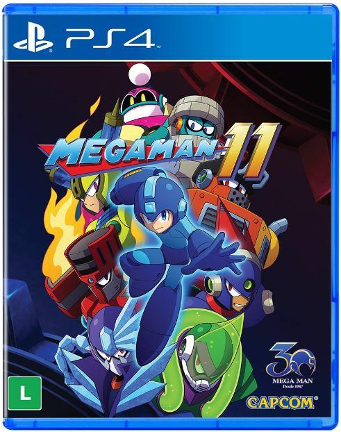 Jogo PS4 Mega Man 11
