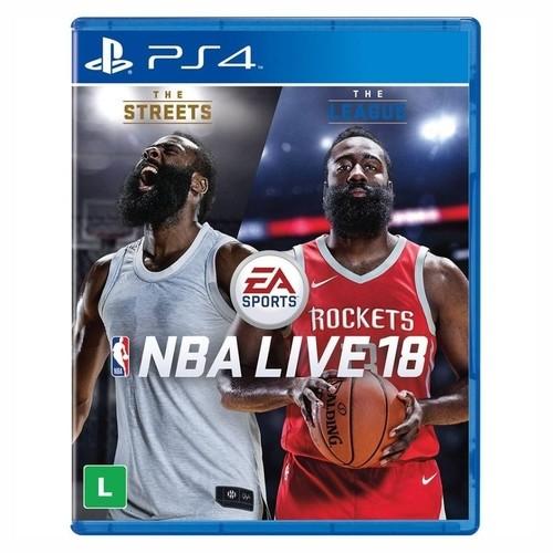 Jogo PS4 Nba Live 18