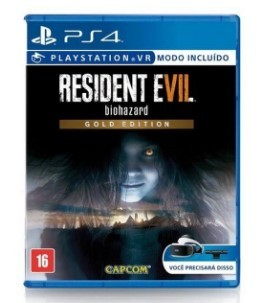 Jogo PS4 Resident Evil 7 Biohazard