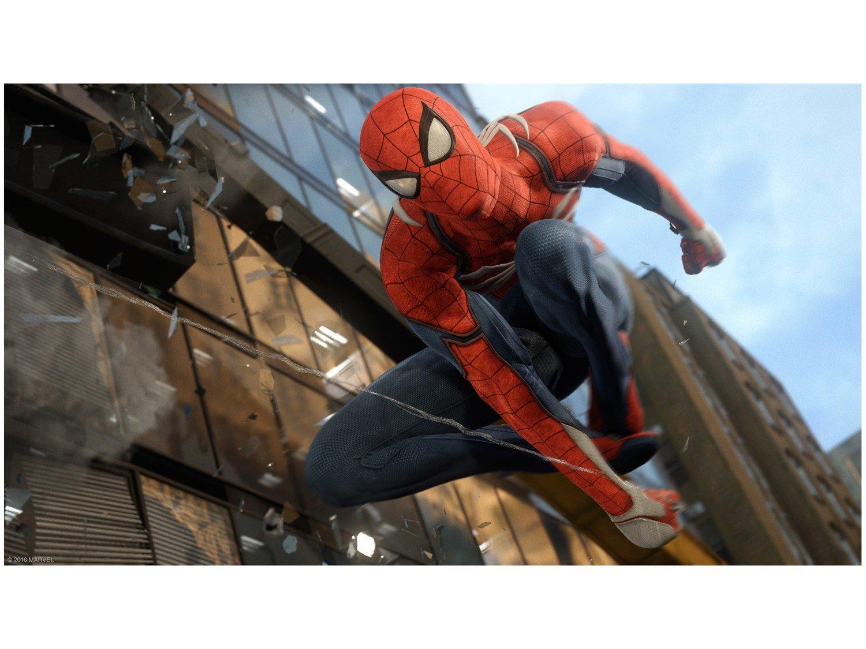 Jogo PS4 Spiderman - Edição Jogo do Ano
