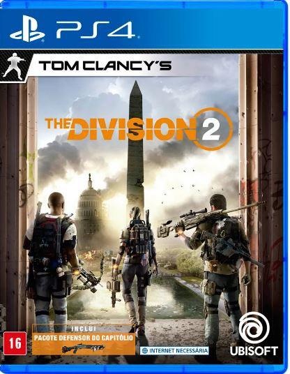 Jogo PS4 Tom Clancys The Division 2 Edição de Lançamento