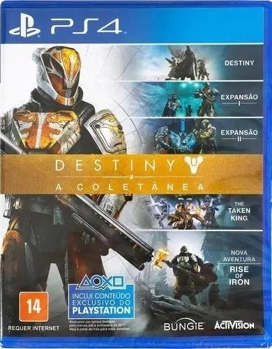 Jogo PS4 Usado Destiny a Coletanea Pt BR