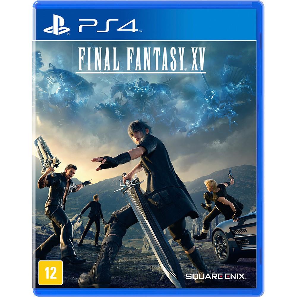 Jogo PS4 Usado Final Fantasy XV