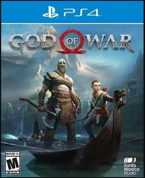 Jogo PS4 Usado God Of War 4
