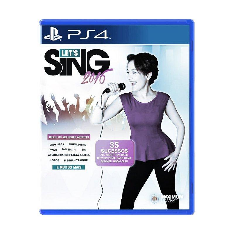 Jogo PS4 Usado Lets Sing