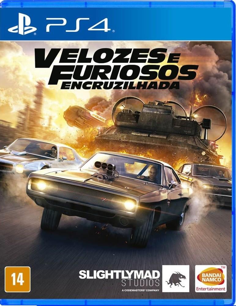 Jogo PS4 Velozes e Furiosos Encruzilhada