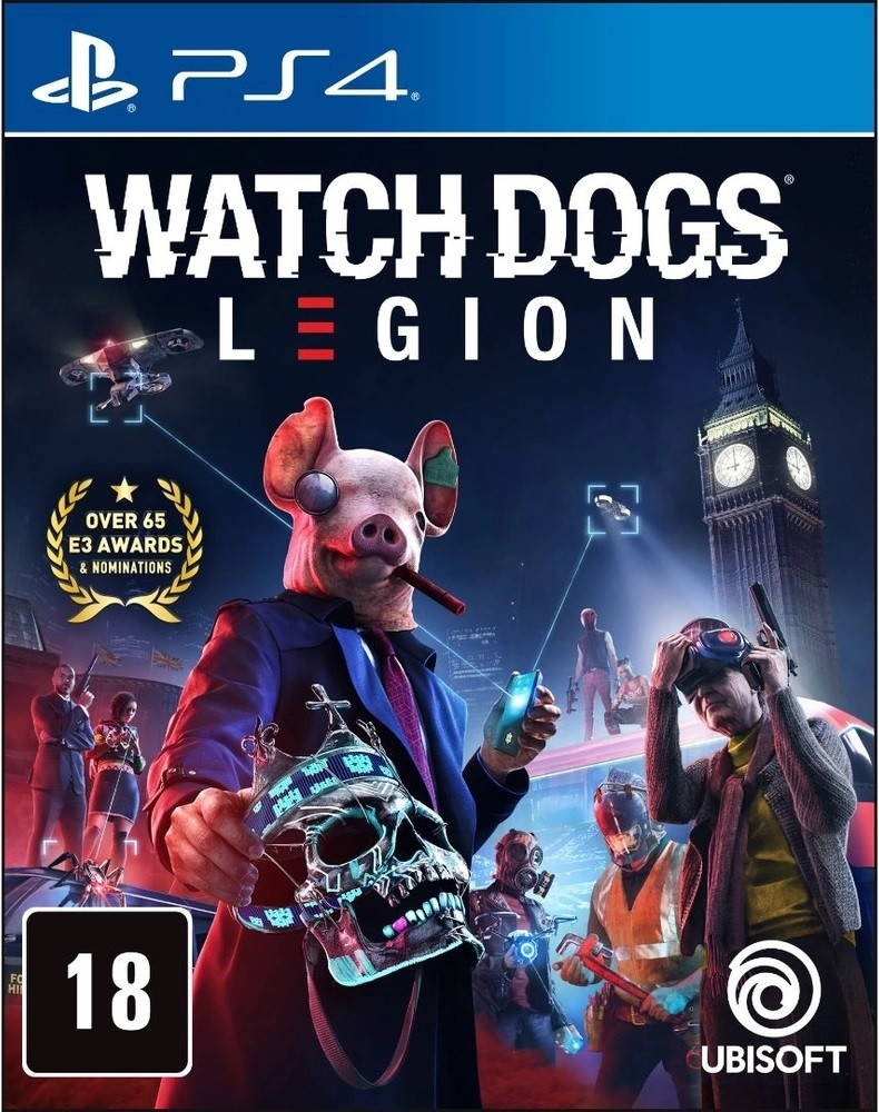 Jogo PS4 Watch Dogs Legion