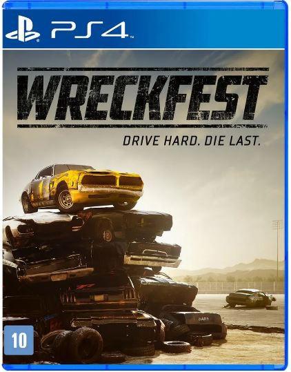 Jogo PS4 Wreckfest