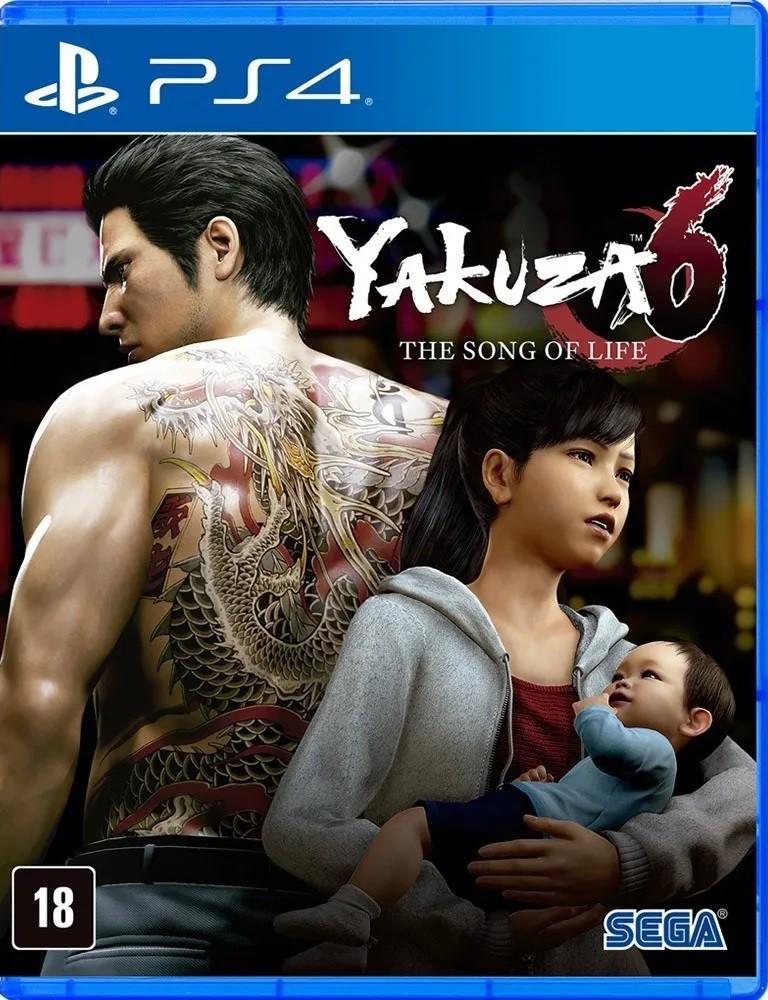 Jogo PS4 Yakuza 6 The Song of Life