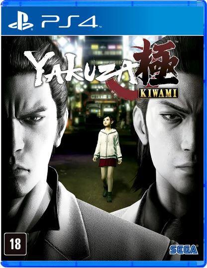 Jogo PS4 Yakuza Kiwami