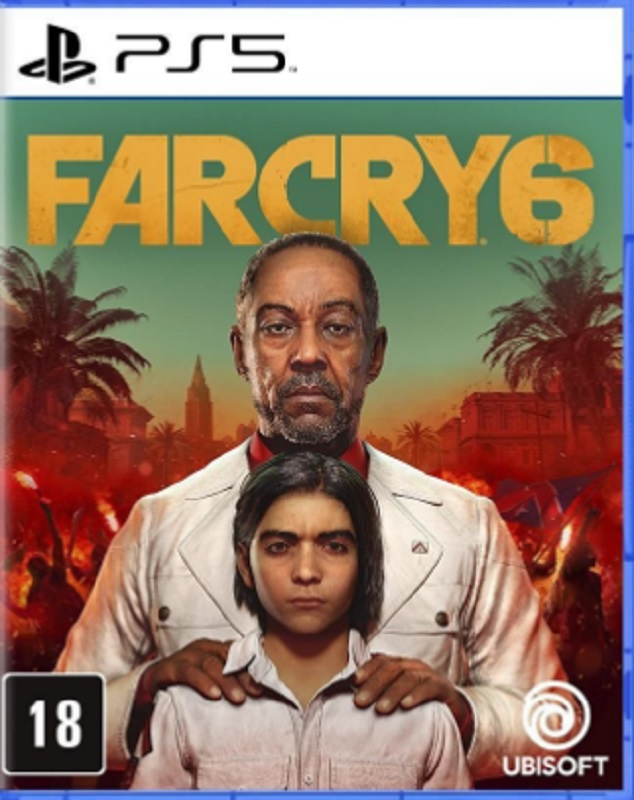 Jogo PS5 Far Cry 6