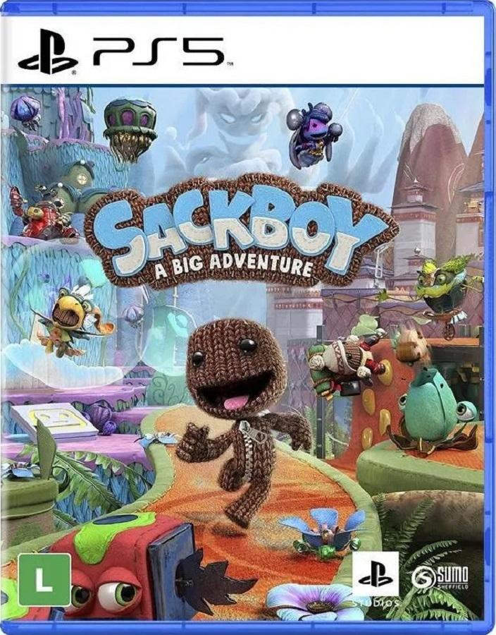 Jogo PS5 Sackboy Uma Grande Aventura