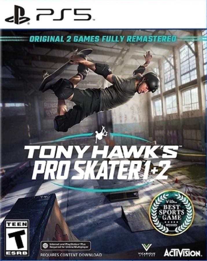 Jogo PS5 Tony Hawk´s Pro Skater 1 + 2