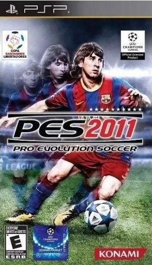 Jogo PSP Pro Evolution Soccer 2011