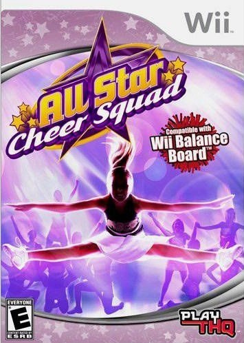 Jogo Wii All Star Cheer Squad