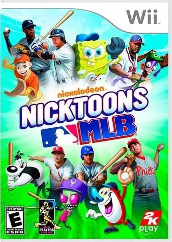 Jogo Wii Nicktoons MLB