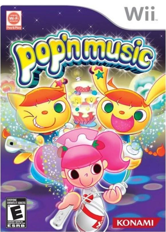 Jogo WII Pop'n Music