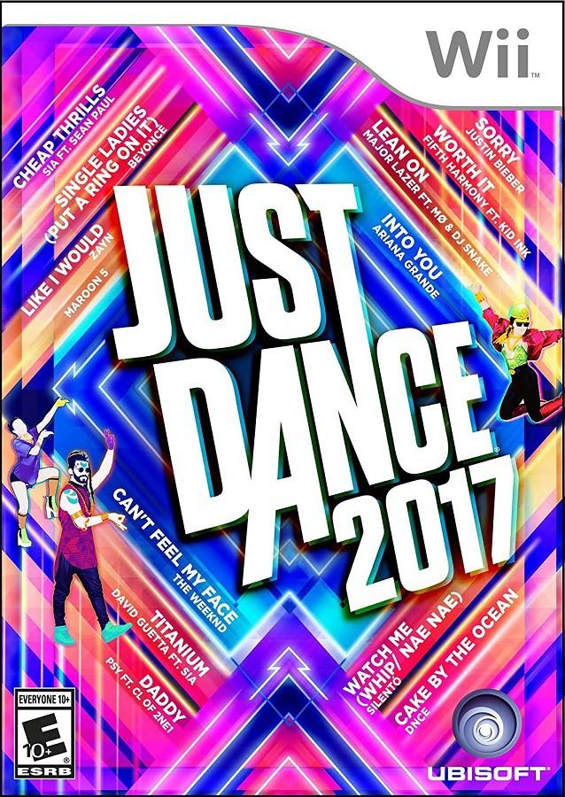 Jogo WII U Just Dance 2017