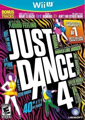 Jogo Wii U Just Dance 4