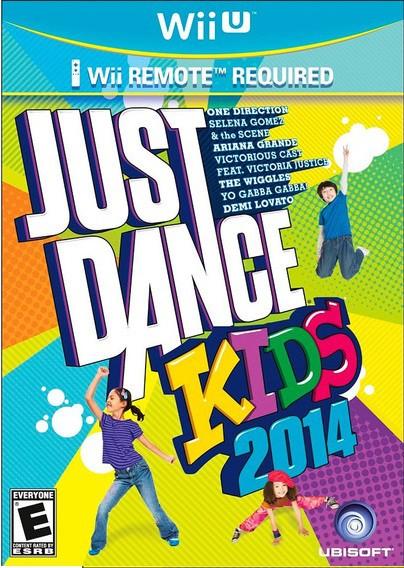Jogo Wii U Usado Just Dance Kids 2014