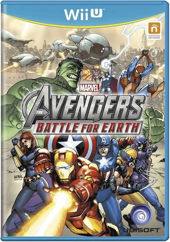 Jogo Wii U Usado Marvel Avengers Battle for Earth