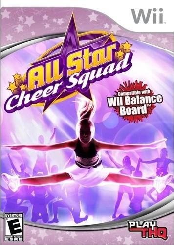 Jogo Wii Usado All Star Cheer Squad
