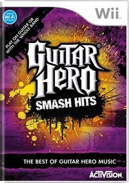 Jogo Wii Usado Guitar Hero: Smash Hits
