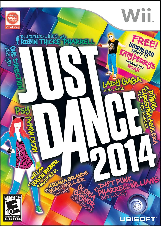 Jogo WII Usado Just Dance 2014