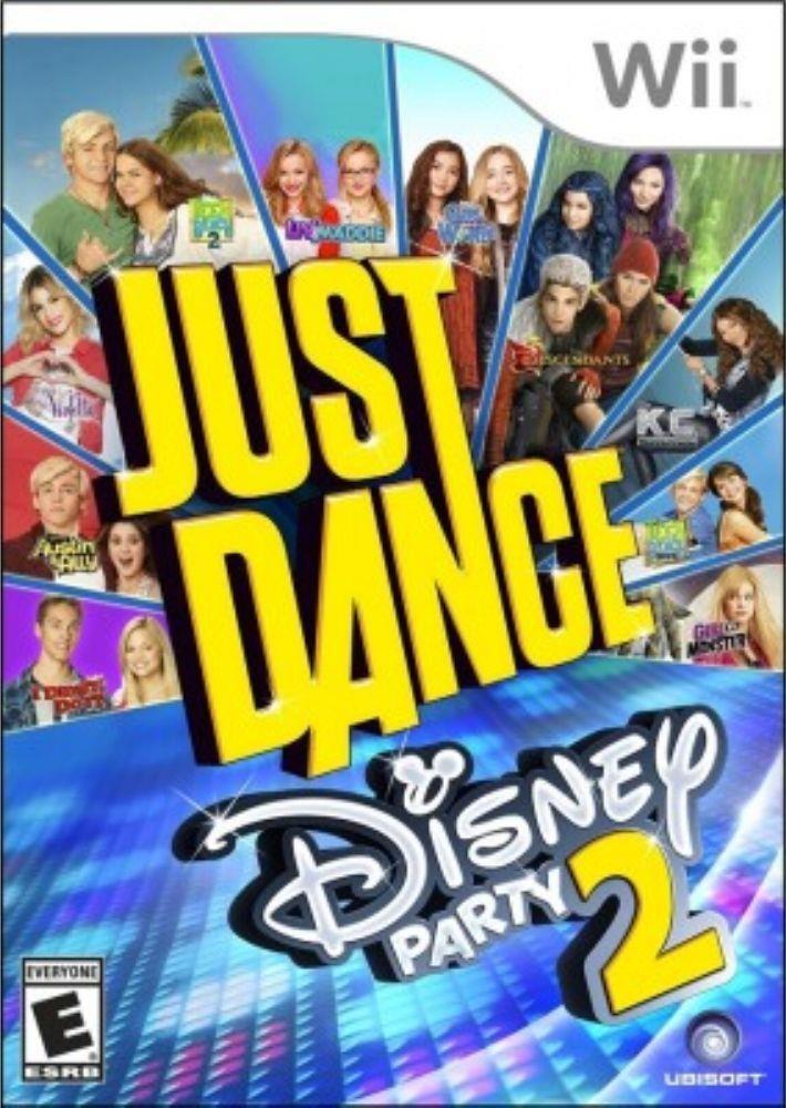 Jogo WII Usado Just Dance Disney Party 2