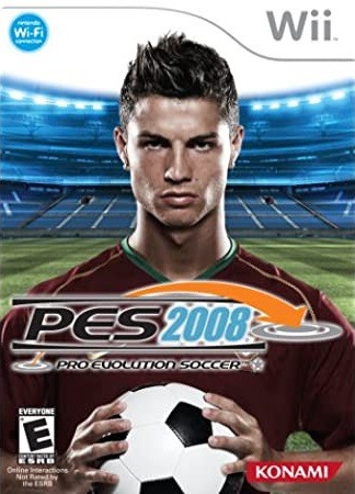 Jogo Wii Usado Pro Evolution Soccer 2008
