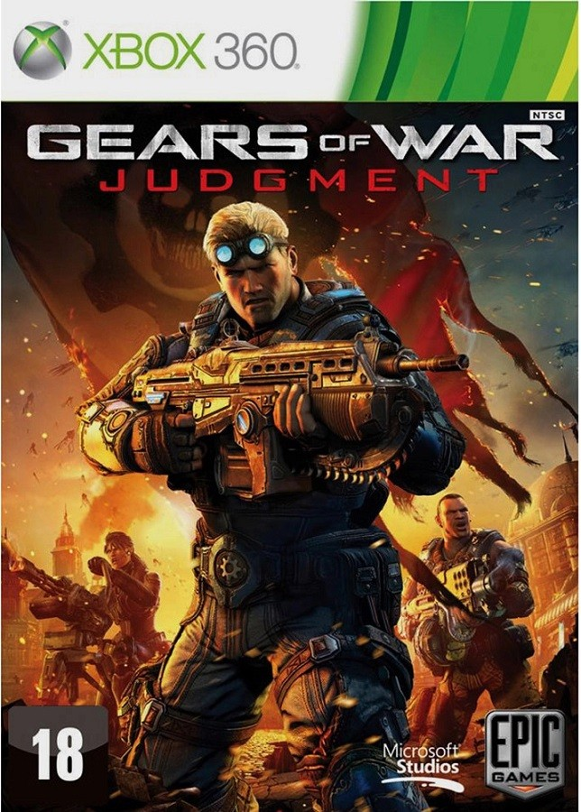 Jogo Xbox 360 Gears Of War Judgment